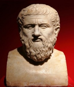 "I cent. A.D. Marble portrait of Plato. ""Portraits. The Many Face"